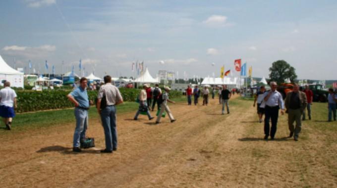 Netzwerk Lebensraum Feldflur auf den DLG-Feldtagen 2014