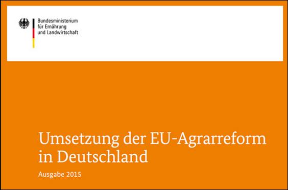 Umsetzung der EU-Agrarreform in Deutschland