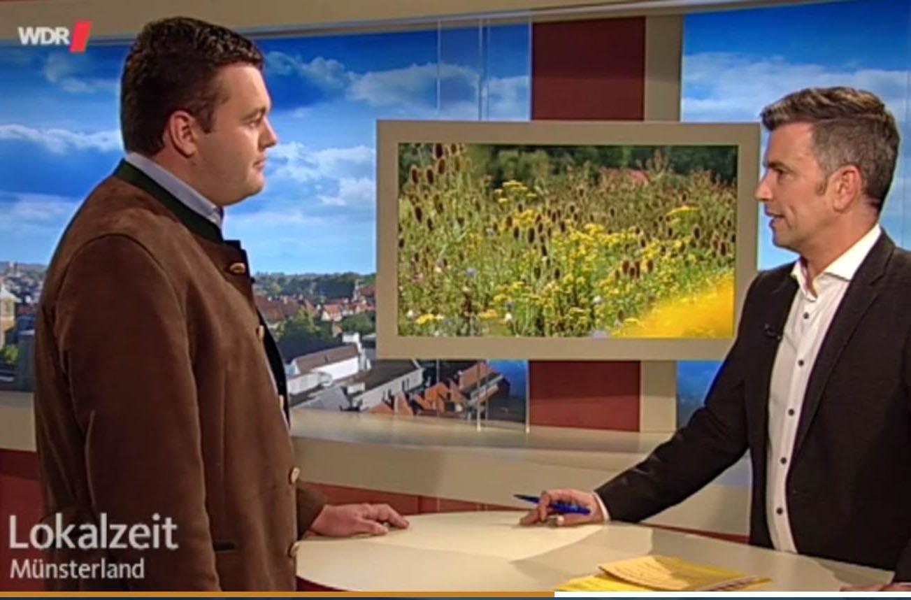 Wildpflanzen statt Mais im WDR