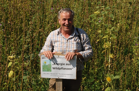 Beitragsbild Werner Kuhn Blühende Biomasse